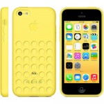 Чехол Apple Case для iPhone 5C Желтый