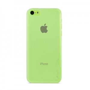 Накладка Melkco для iPhone 5C Ultra Slim case Air PP 0.4mm Green