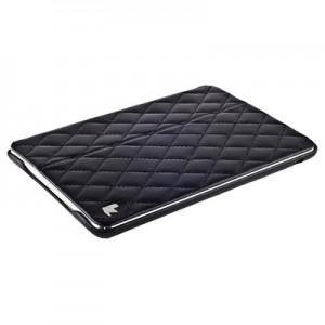 Чехол Jisoncase для iPad mini Retina| mini натуральная кожа со стеганым узором черный