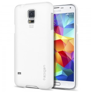 Galaxy S5 Case SGP Ultra Fit White