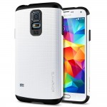 Galaxy S5 Case SGP Slim Armor White