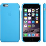 Apple iPhone 6 Case Blue Силиконовый