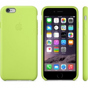 Apple iPhone 6 Case Green Силиконовый