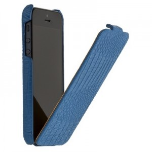 Leather Case for iPhone 5|5S Blue