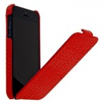 Leather Case for iPhone 5|5S Red