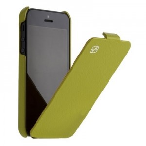 Leather Case for iPhone 5|5S Green