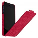 Leather Case for iPhone 5|5S Crimson