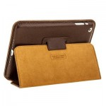 Apple iPad mini Leather Case Coffee