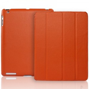 Apple iPad Leather Case Orange