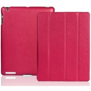 Apple iPad Leather Case Pink